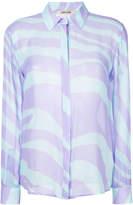 Roberto Cavalli zebra print shirt