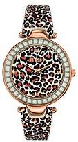 Versus By Versace SQ1040013 Versace Womens Sertie Rose Gold/Brown Leopard