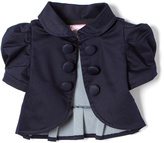 Denim Short Sleeve Bolero - Toddler & Girls