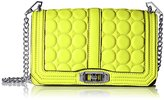 Rebecca Minkoff Love with Circle Quilt Cross Body