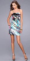 Multi Color Sequin Cocktail Dresses by La Femme