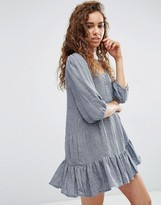 d.RA Lyon Dress with Drop Hem