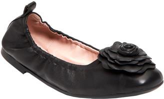 Taryn Rose Rosalyn Weatherproof Leather Flat