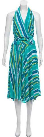 ABS by Allen Schwartz Halter A-Line Mini Dress