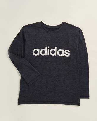 adidas Boys 8-20) Logo Performance Long Sleeve Tee