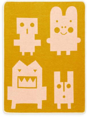 Arket Klippan Monsters Cotton Blanket