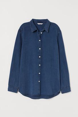 H&M Lyocell denim shirt