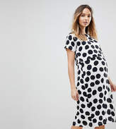 Asos NURSING Dress with Double Layer in Blurred Spot