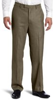 Savane Men's Big & Tall Sharkskin Dress Pant