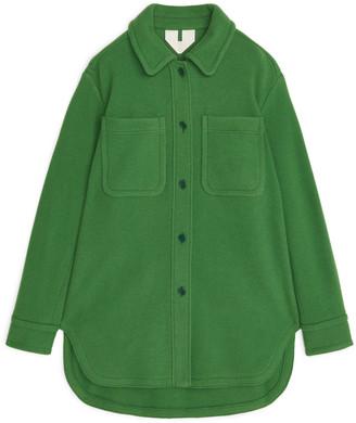 Arket Overshirt-Style Wool Coat