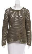 Rag & Bone Open Knit Crew neck Sweater