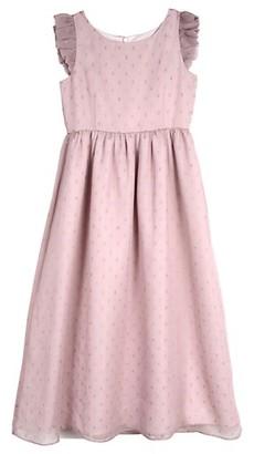 Belle By Badgley Mischka Girl's Embellished Midi Dress
