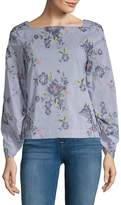 Laundry by Shelli Segal Women's Embroidered Top
