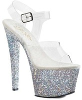 Pleaser USA Women's Sky 308LG Platform Sandal