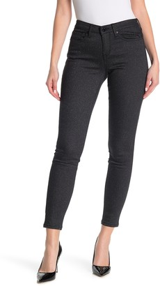 William Rast Mid Rise Shimmer Perfect Skinny Jeans