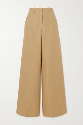 Loro Piana Linen Wide-leg Pants - Beige