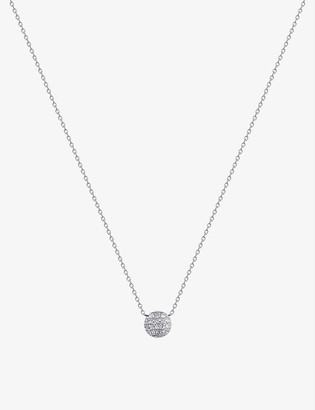 The Alkemistry Dana Rebecca Lauren Joy mini 14ct white-gold and diamond necklace