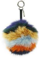Fendi Pompom Fox Fur Key Chain