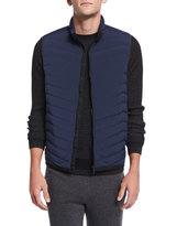 Theory Corick Lightweight Puffer Vest, New Navy