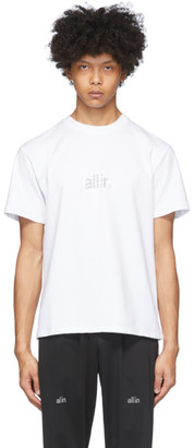 all in White Arc Diamond T-Shirt