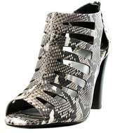 Tahari Lindy Open Toe Leather Sandals.