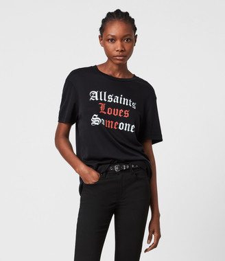 AllSaints Amie Boyfriend T-shirt