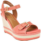 Clarks As Is Leather Wedges - Zia Castle