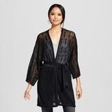 Mossimo Women's Pointelle Kimono Sweater