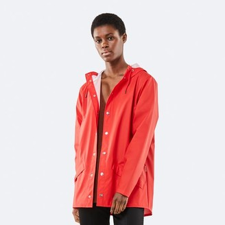 Rains Jacket Red - XS/S