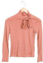 Chloé Girls' Long Sleeve Striped Top