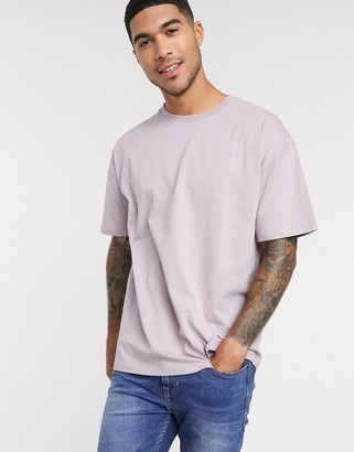 New Look oversized t-shirt in lilac