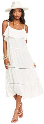 Show Me Your Mumu Ambrose Midi Dress (White) Women's Dress