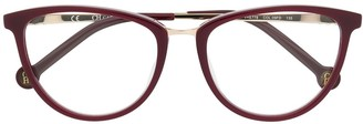 Carolina Herrera Cat Eye Frame Glasses