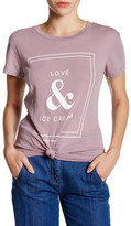 Wildfox Couture Love And Ice Cream Tee
