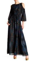 Rachel Zoe Open Shoulder Silk Mari Dress