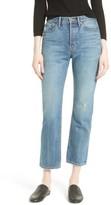 Vince Women's High Waist Vintage Straight Leg Jeans