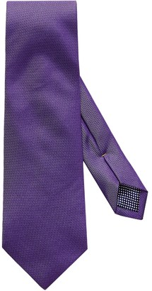 Eton Purple Basket Weave Tie