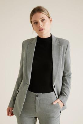 Seed Heritage Single Breasted Suit Blazer