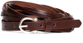 Brooks Brothers Braided Calfskin Belt