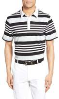 AG Jeans Men's The Benson Stripe Pique Polo