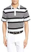 AG Jeans The Benson Stripe Pique Polo