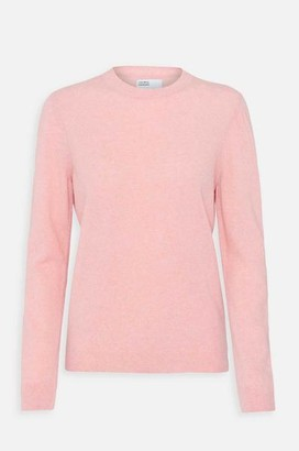Colorful Standard - Womens Classic Merino Crew Jumper In Faded Pink - L