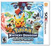 Nintendo Pokemon Mystery Dungeon Gates to Infinity 3DS - Email Delivery