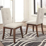 Signature Design by Ashley Set of 2 Centiar Upholstered Parsons Dining Side Chairs