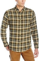 Wolverine Men's Portage Light Weight Two Sided Brushed Flannel Shirt