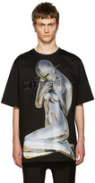 Juun.J Black Soyarama T-Shirt