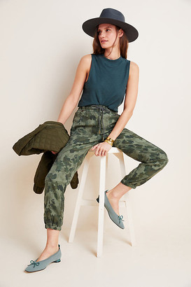 Anthropologie Leda Utility Joggers By in Green Size XS