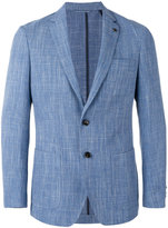 Michael Kors two button blazer - men - Cotton/Linen/Flax/Polyester/Wool - 36