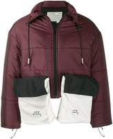 Men S Red Puffer Jacket Shopstyle