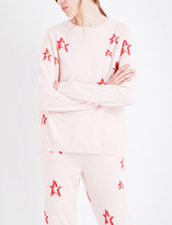 Chinti and Parker 3D Star cashmere jumper